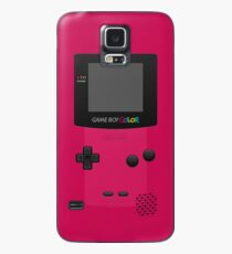 Pink Nintendo Gameboy Color Case/Skin for Samsung Galaxy