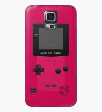 Funda/vinilo para Samsung Galaxy Pink Nintendo Gameboy Color