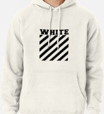 Off-white logo stripes Pullover Hoodie