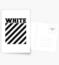 Off-white logo stripes Postcards