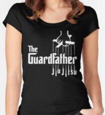 Jiu Jitsu, The Guardfather Women's Fitted Scoop T-Shirt