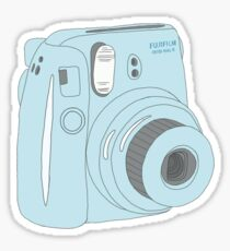 Kawaii Polaroid Instax Blue Sticker