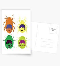 Beetles Postcards
