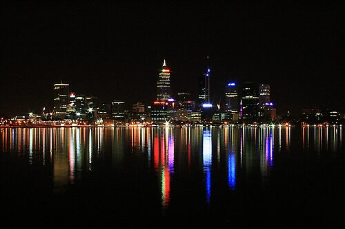 Perth By Night by specialgreg