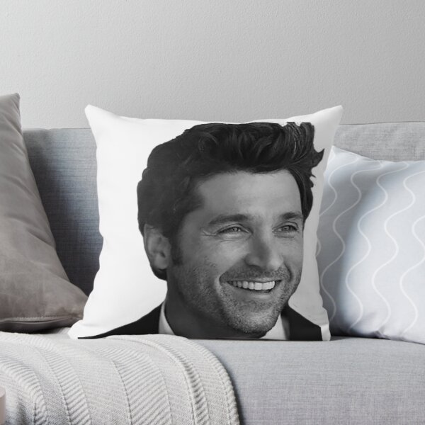 Patrick Dempsey Throw Pillow
