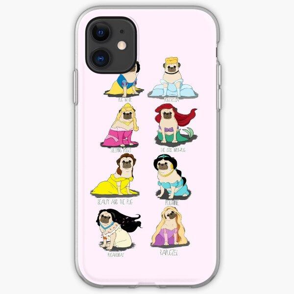 Pug Princesses iPhone Soft Case