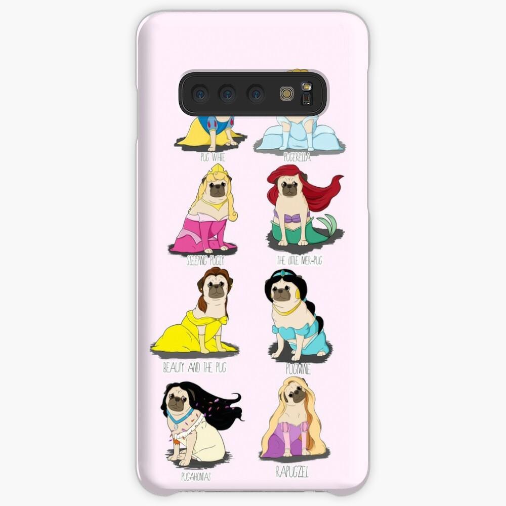 Pug Princesses Case & Skin for Samsung Galaxy
