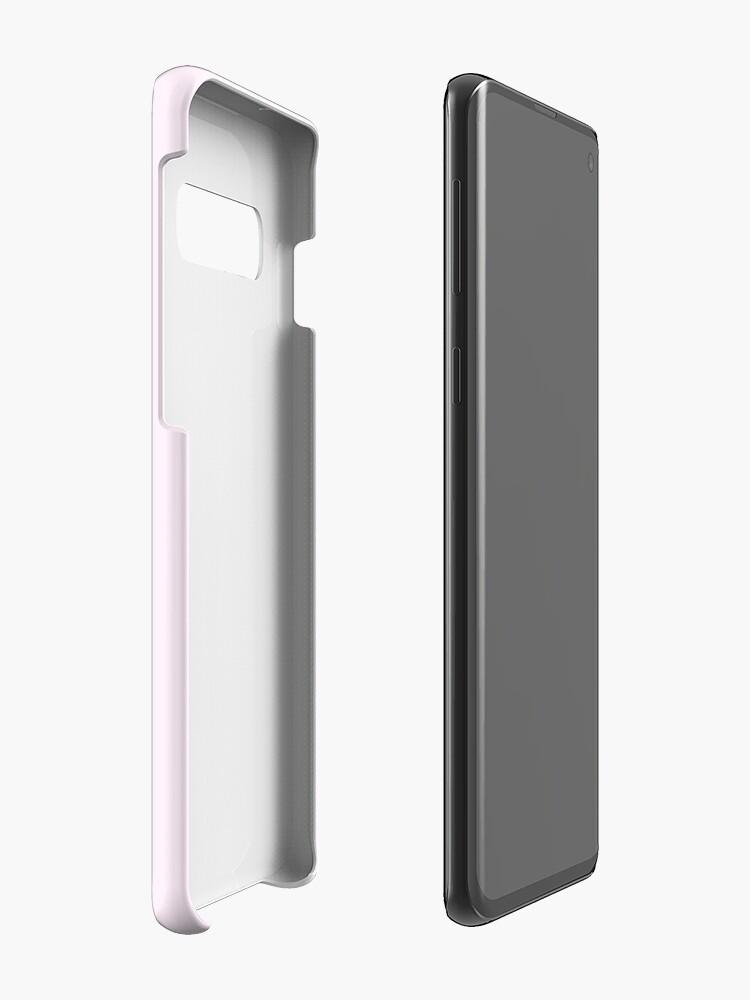 Alternate view of Pug Princesses Case & Skin for Samsung Galaxy