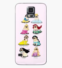 Pug Princesses Case/Skin for Samsung Galaxy