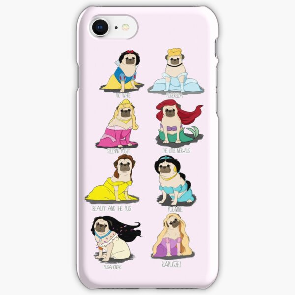 Pug Princesses iPhone Snap Case