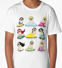 Pug Princesses Long T-Shirt