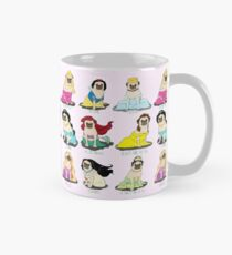 Mops Prinzessinnen Tasse (Standard)