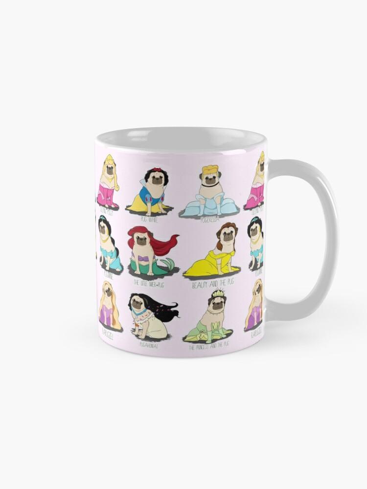 Alternate view of Pug Princesses Mug