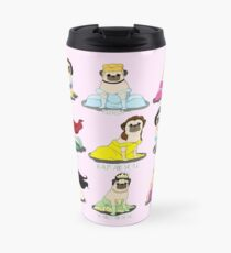 Pug Princesses Travel Mug