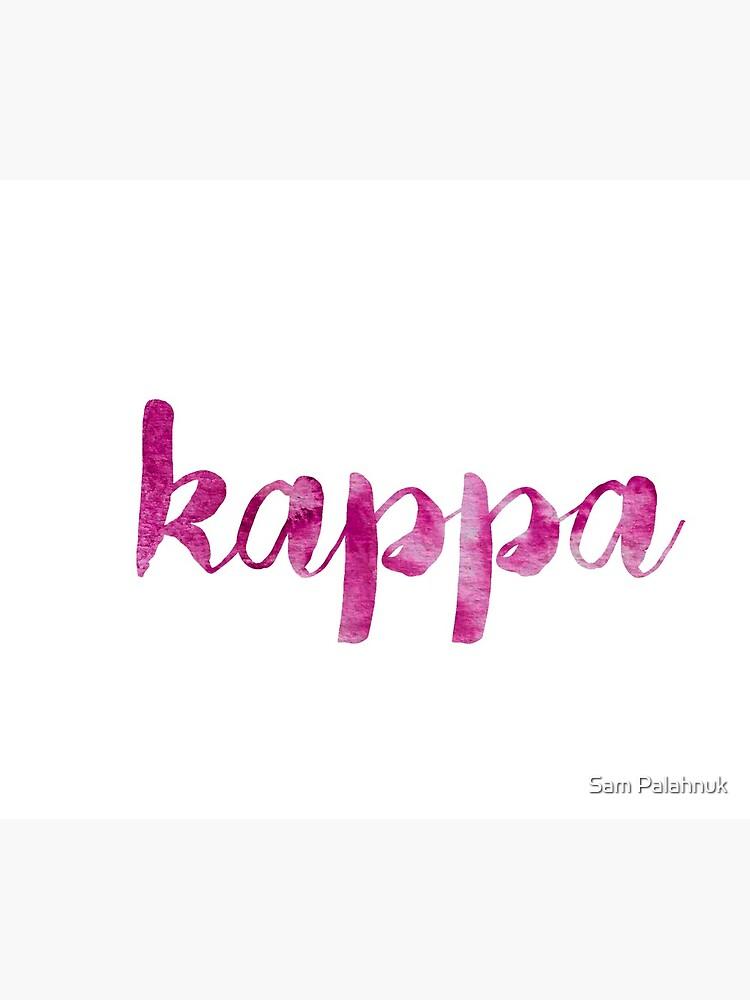 Kappa sticker: mix and match sorority series by sampalahnukart