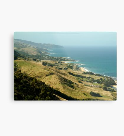 Mariner's Lookout Great Ocen Rd Metal Print