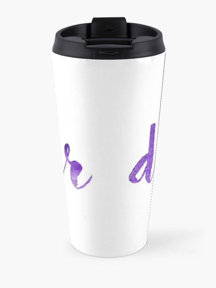 Alternate view of Deepher sticker Travel Mug