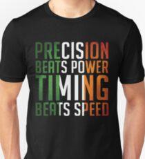 Conor McGregor Precision Beats Timing T-Shirt
