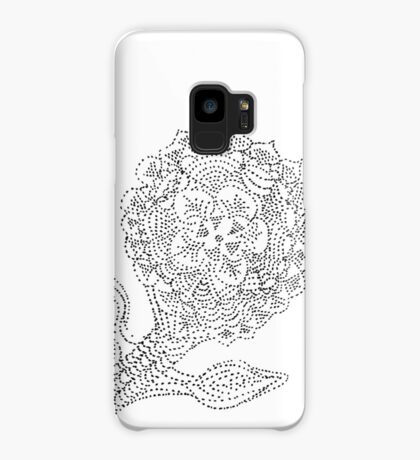 Dotted Flower Case/Skin for Samsung Galaxy