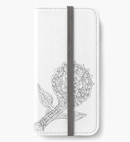 Dotted Flower iPhone Wallet