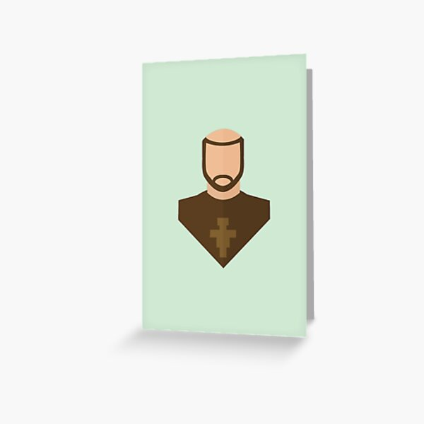 Francis of Assisi Greeting Card