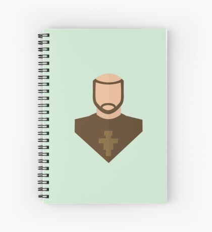 Francis of Assisi Spiral Notebook