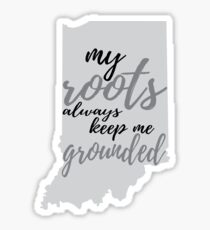 Indiana Roots Sticker