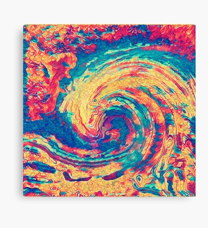 King wave Canvas Print