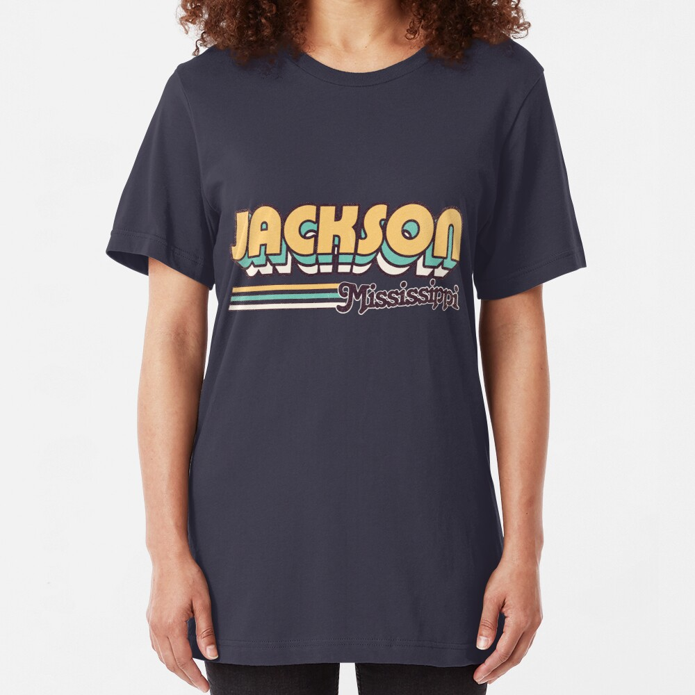 Jackson, MS | City Stripes Slim Fit T-Shirt