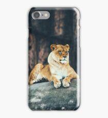 Lion Rock it iPhone Case/Skin