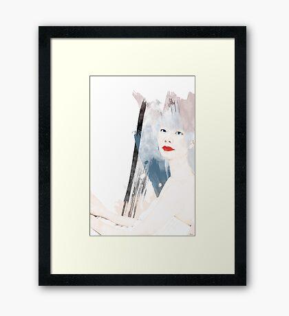 TOKIO WOMAN Framed Print
