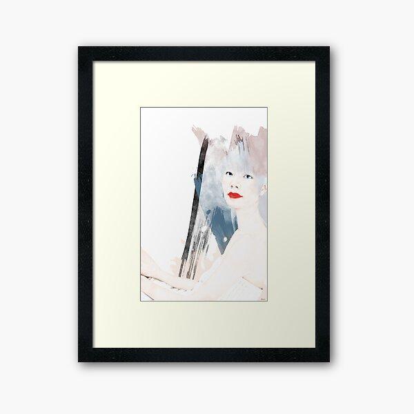 TOKIO WOMAN Framed Art Print