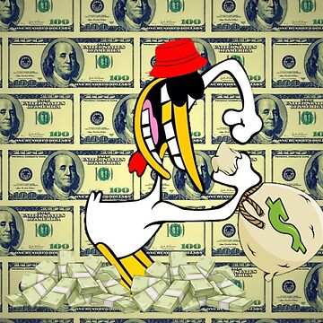 Cow and Chicken's Chicken gets money  by Willkill22