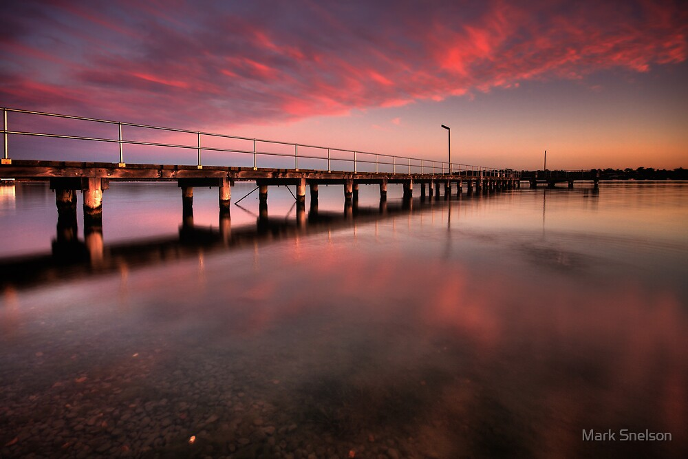 Speers Point Jetty by Mark Snelson