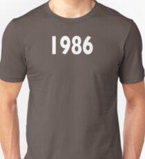 1986 Design Unisex T-Shirt