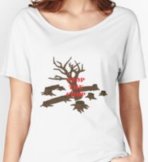 Stop The Chop 5# Women's Relaxed Fit T-Shirt