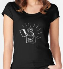 Before the Storm - Firewalk - Life is Strange 1.5 Women's Fitted Scoop T-Shirt
