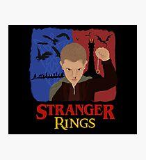 Stranger Rings Photographic Print
