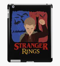 Stranger Rings iPad Case/Skin