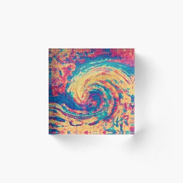 King wave Acrylic Block