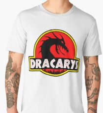 Dracarys - Mother of Dragons in the Park of Jurassic Dragons! Men's Premium T-Shirt