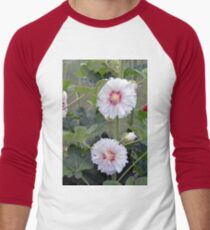 Large white flowers in the garden  T-Shirt