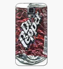Crushed Dr Pepper Tin Case/Skin for Samsung Galaxy