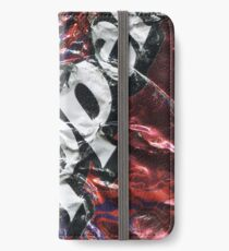 Crushed Dr Pepper Tin iPhone Wallet/Case/Skin