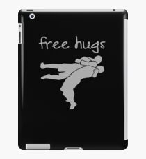 Wrestling - Free Hugs iPad Case/Skin