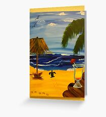 Tequila Sunrise Day Greeting Card