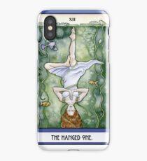 The Hanged One Tarot Card iPhone Case/Skin
