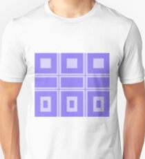 Abstract squares - blue. T-Shirt