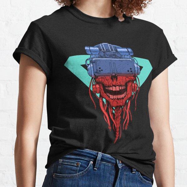 cyber punk skull Classic T-Shirt