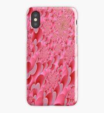 Pink Sherbet Fractal Patterns iPhone Case/Skin